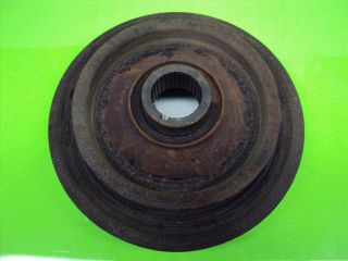 V6 Acura Honda Harmonic Balancer Crank Shaft Pulley