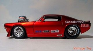 Goodwrench Parts Dragster 1970 Chevrolet Camaro 1 24 NHRA Pro Stock Diecast