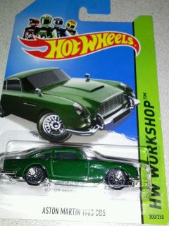 2014 Hot Wheels Aston Martin 1963 DB5 on Intl Card B Case Super