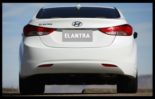 Elantra Hyundai Avante Genuine Emblem Trunk Logo Korea Parts Chrome Rear New