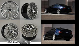 "19"" Wheels for BMW E90 E92 328 335 Z4 Avant Garde 310 Mesh Set of 4 Rims Caps"