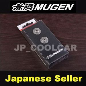 X2 JDM Original Mugen Number Plate Bolts Honda Civic Accord CR V Fit Pilot Acura