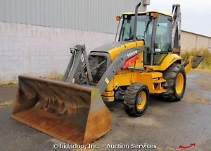 2008 Volvo BL60 Backhoe Wheel Loader 4x4 Ext Stick Enclosed Cab Heat A C Bidadoo