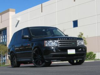 Gloss Black Range Rover Sport Wheels Tires Rims Supercharged HSE Autobiography
