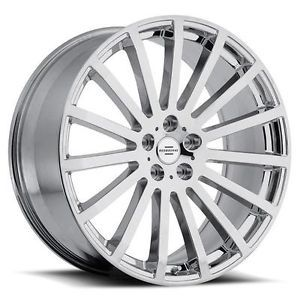 22 inch Redbourne Dominus Chrome Wheels Rims 5x120 32 Land Rover Range Rover