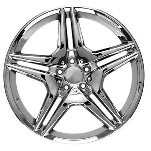20 inch Chrome Mercedes Benz Wheels Rims