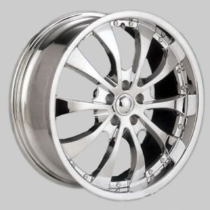 "18"" NZO Halo II Chrome Wheels Rims Mercedes Benz Ml"