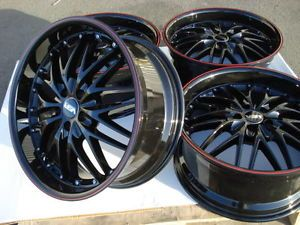 18 Mercedes Benz C300 C280 SLK320 E320 CLK320 S430 AMG SLK CLK Black Wheels Rims