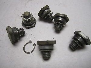 1957 58 Cadillac DeVille Fleetwood Power Seat Stop Switch Mounting Bolts