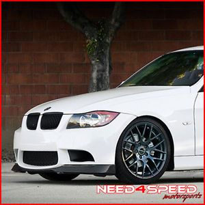 "19"" BMW E90 328 335 Sedan Avant Garde M359 Black Concave Staggered Wheels Rims"