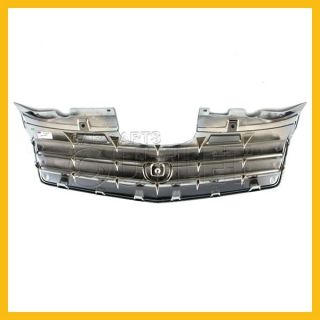 2006 2008 2009 Cadillac SRX Gray Grille Chrome Molding w O Sport New