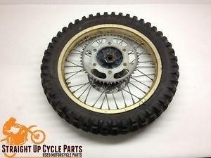 1987 Honda CR125R CR125 Rear Back Wheel