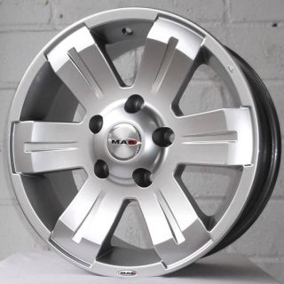 "16"" Jeep Grand Cherokee 99 05 TSW Mohave Silver Alloy Wheels 5x127"