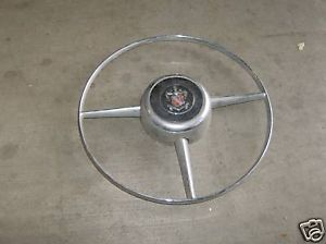 1948 Buick Steering Wheel Horn Ring Original