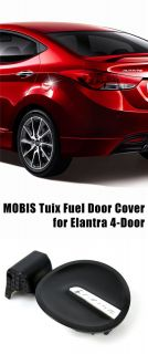 Tuix Fuel Gas Filler Door Cap Cover for 11 Hyundai Elantra 4DR