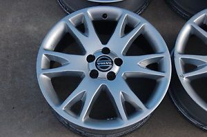 "One 2003 2009 18"" Volvo XC90 Factory Atlantis Alloy Wheel Rim 18x7"""