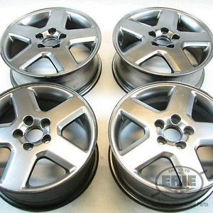 Set of 4 Volvo 16x6 5 Clava Alloy Rims Wheels Fits V50 C30 C70 S40 04 09