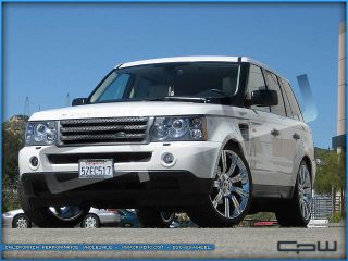 "Chrome 22"" Stormer Wheels Land Rover Range Rover HSE Supercharged Rims"