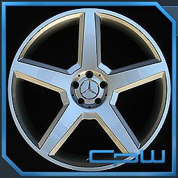 "22"" inch Wheels Rims Mercedes Benz W221 S550 S600 Concave AMG Style Staggered"