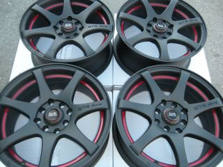 15 Wheels Civic Accord Integra Aveo Cobalt Altima Cube Corolla Saturn 4 Lug Rims