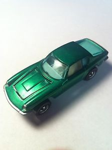 1969 Red Line Hot Wheels Spectraflame Green Maserati Mistral Near Mint