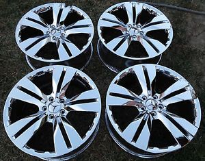 "20"" Mercedes Benz ML350 Chrome Wheel Rims Set of 4"