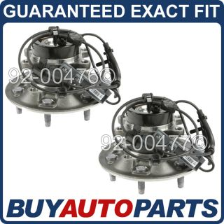 Pair New Front Wheel Hub and Bearing Assembly Chevy Colorado GMC Canyon Z71 2WD
