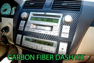 Nissan 350Z 06 08 Carbon Fiber Dash Kit Interior Dashboard Parts Lope