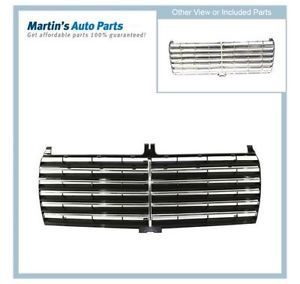 Grille Insert New Black Mercedes 190 Benz 190E 201 Chassis 190D 2018880223