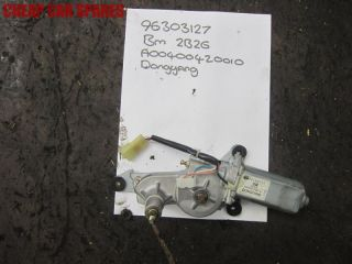 Daewoo Lanos 1 6 Rear Back Window Windscreen Wiper Motor
