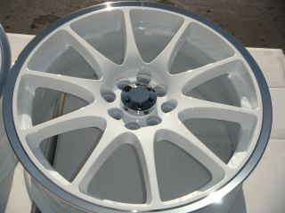 17 White Wheels Rims Nissan Sentra Cube Lancer galant Honda Prelude Civic Accord