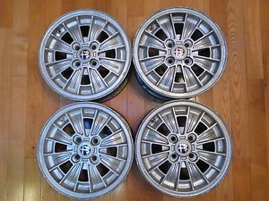 "Alfa Romeo 4 on 98 Alfetta GTV Campagnolo Alloy Wheel Set 14 x 6"" Fiat Lancia"