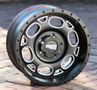 18 inch Black Wheels Rims Moto Metal 964 Jeep Wrangler 2007 2013 Only 5x5