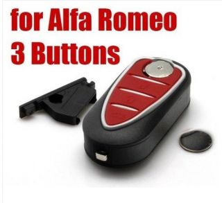 Alfa Romeo Mito Giulietta GTO 159 3 Button Remote Key Fob Case Blade New