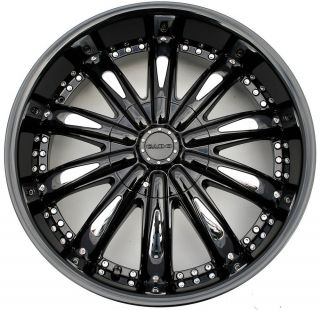 Cabo 170 20 x 8 5 Black Rims Wheels Oldsmobile Alero 99 07 5H 34