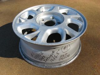 "Oldsmobile Intrigue 16"" Factory Aluminum Alloy Wheel Rim 2000 2001 2002"