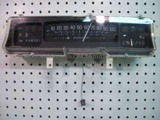 1995 Buick LeSabre Park Ave Interior Dash Instrument Cluster Speedometer Assy