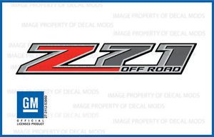 2 2014 Z71 Off Road Decals F Stickers Parts Chevy Silverado GMC Sierra 4x4