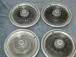 "15"" Vintage Buick Riviera Hubcap Wheel Cover Set of 4"