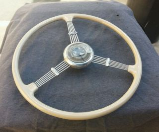 1930s Buick Banjo Accy Steering Wheel