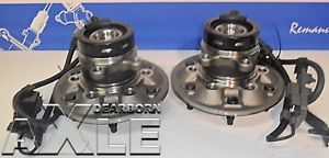 "2 Front GMC Isuzu Chevy Colorado Wheel Hub Bearing Chevy ""Pair"" Rwd"