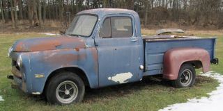 1954 Dodge Pickup Truck w Pontiac Engine for Parts or Restoration Project