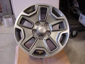 "Jeep Wrangler Rubicon 2013 17"" inch Wheel Rim Wheels Rims"