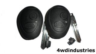 Land Rover Discovery 2 Key Blank Fob Pair 2 Valeo Replacement