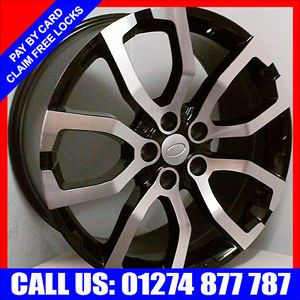 "20"" CRX Alloy Wheels Tyres Land Rover Discovery Range RVR Vogue 275 40R20 Tyre"