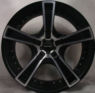 "4 20"" KMC Wheels Rims Charger Challenger Mustang Altima Maxima 350Z KM663"