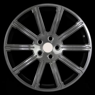 "20"" Land Rover Styled Wheels 5x120 Gun Metal Rim Fits Land Rover LR3 SE V8 2008"
