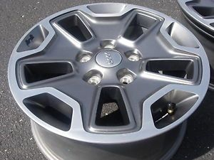 "2012 Jeep Wrangler Wheels Five 17"" Jeep Wrangler Rubicon Rims 17 Inches"