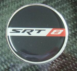 SRT8 SRT 8 Steering Wheel Emblem Jeep Grand Cherokee 08 New
