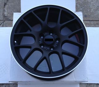 "Matte Black 18"" Rims Chr Style Wheels Mitsubishi Eclipse Lancer Coupe Sedan"